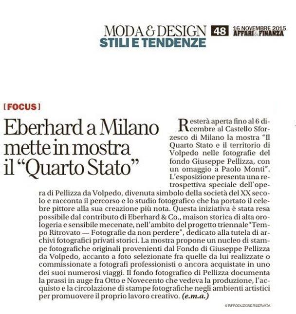 La Repubblica Affari e Finanza 16.11.15_ Volpedo (2)